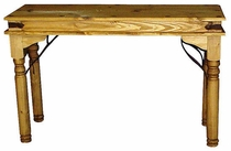 Indian Sofa Table Mexican Pine