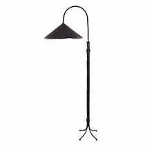 Wrought iron floor and table lamps from mexico iron floor lamp shade mozeypictures Images