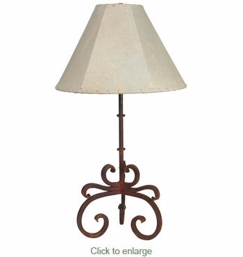 Iron Sonora Table Lamp