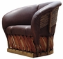 Jalisco Lounge Chair - Chocolate