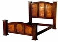Kendra Bed with Copper Panels