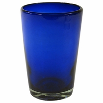 Large Cobalt Blue Drink Glass - Set of 4