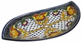 Large Curved Talavera Rosario Serving Platter