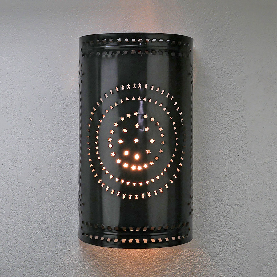inventiveness lamp light copper bang top led lights black up exterior porch sconce fixtures iron external wall