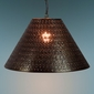 Large Gusanito Tin Pendant Shade Light