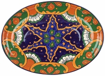 Large Oval Talavera Serving Platter