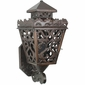 Large Punched Tin Colonial Wall Sconce