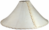 Large Rawhide Lamp Shade