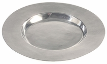 Round Extra Large Pewter Tray