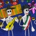 Large Skeleton Scenes - Mexican Dioramas