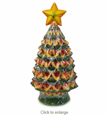 Large Talavera Christmas Tree - 33