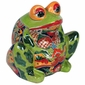 Large Talavera Frog Pot