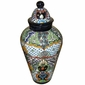 Large Talavera Ginger Jar with Lid
