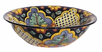 Large Traditional Talavera Bowl