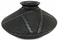 Mata Ortiz Black Geometric Etched Pot