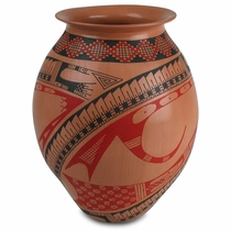 Mata Ortiz Native Vase