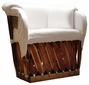 Mediterranean Equipale Lounge Chair