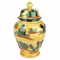 Medium Cactus Ginger Jar