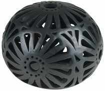 Medium Mexican Black Clay Luminaria
