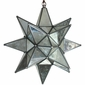 Medium Mirrored Hanging Star Light