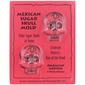Medium - Oaxacan Sugar Skulls Front & Back - 2 Sets