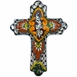 Medium Round Tip Talavera Cross
