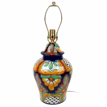 Talavera Lamps and Wall Sconses from Mexico