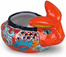 Medium Talavera Rabbit Pot