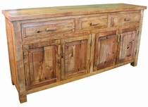 Mesquite 3 Drawer Buffet