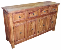 Mesquite 4 Drawer 4 Door Buffet