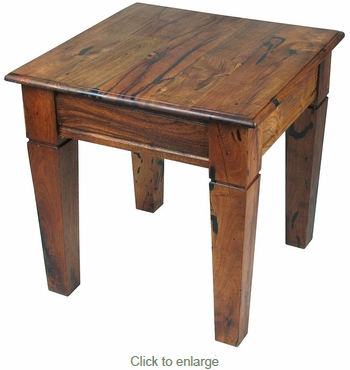 Mesquite Catalina Tapered Leg End Table