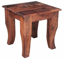 Mesquite Chunky End Table