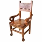 Mesquite Claw Foot Armchair