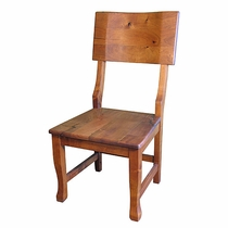 Mesquite Contoured Back Dining Chair