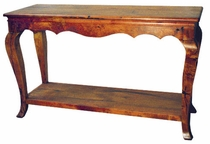 Mesquite English Sofa Table