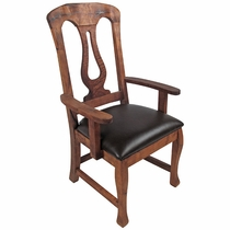 Mesquite Harp Back Dining Armchair