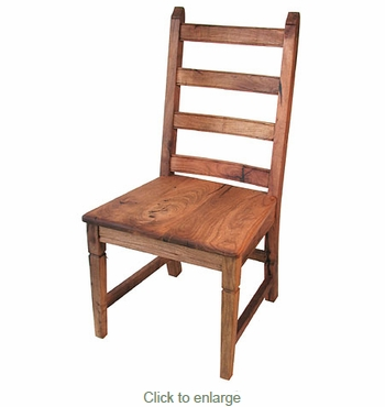 Mesquite Ladder Back Dining Chair