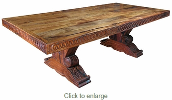 Mesquite Master Dining Table - 8 ft.