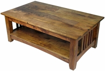 Mesquite Mission Slat Coffee Table
