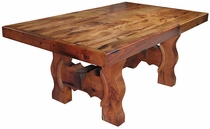 Mesquite Ox Yoke Hacienda Dining Table