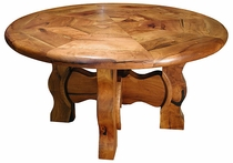 Mesquite Ox Yoke Table