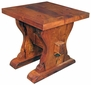 Mesquite Ranch Style End Table