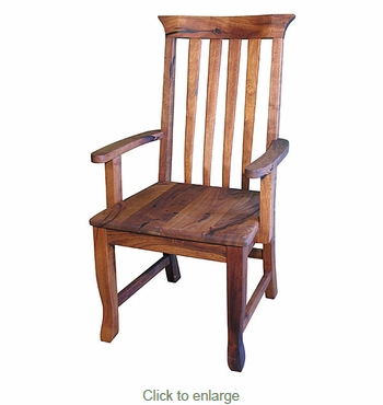 Mesquite Spindle Back Arm Chair