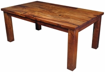 Mesquite Tosca Dining Table with Thick Legs