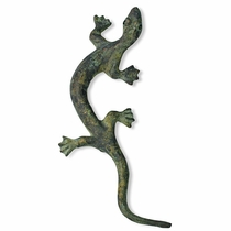 Mexican Bronze Salamander Handle