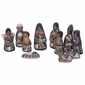 Mexican Ceramic Nativity Scene 11-Piece Set