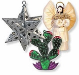 Mexican Christmas Ornaments and Southwest Decorations