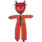 Mexican Coco Mask Devil with Canvas Body