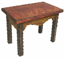 Mexican Country End Table - Small