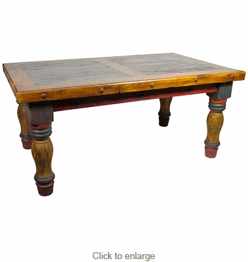 Mexican Country Style Dining Table